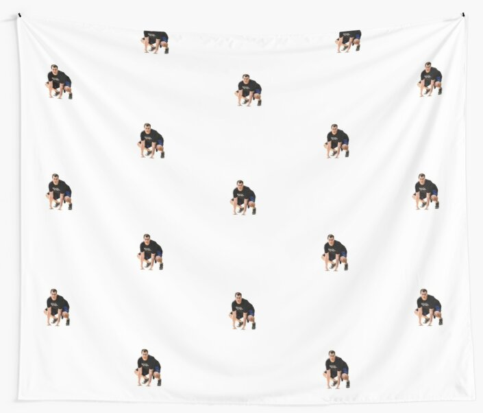 Sharp Tk Wall Tapestries By Cameron Martin Redbubble