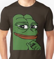 Smug Pepe (Highest Resolution) Unisex T-Shirt