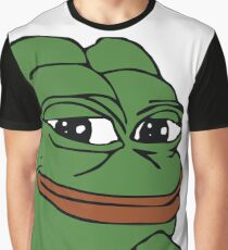 Smug Pepe (Highest Resolution) Graphic T-Shirt