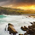 Crescent Head Sunset, New South Wales, Australia by Michael Boniwell