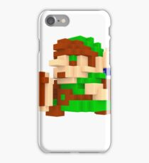 Link Voxel Amiibo Art iPhone Case/Skin