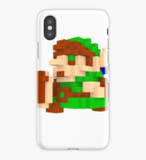 Link Voxel Amiibo Art iPhone Case