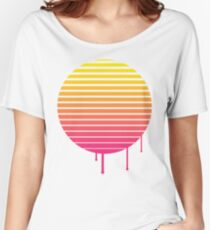 VHS Cassette Vaporwave Women's Relaxed Fit T-Shirt