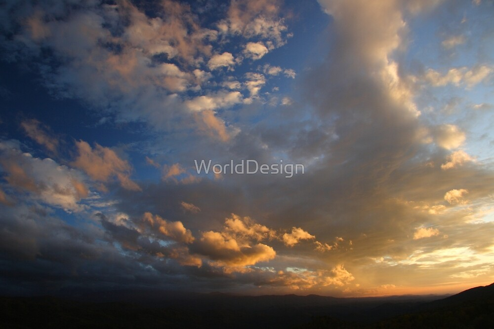 Smoky Mountain Sunset by WorldDesign