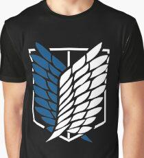 Shingeki no kyojin logo Graphic T-Shirt