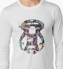 Space Monkeyz Celestial Graphic Long Sleeve T-Shirt