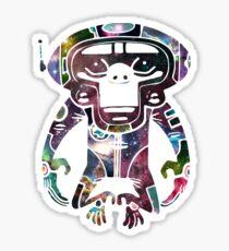 Space Monkeyz Celestial Graphic Sticker