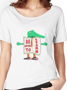Be Open to Learn Women's Relaxed Fit T-Shirt