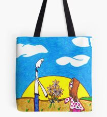 Daisies from Daddy Tote Bag