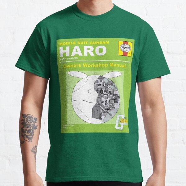 Gundam Haro Haynes Manual Green  Classic T-Shirt