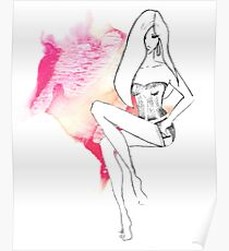 chic lingerie Poster
