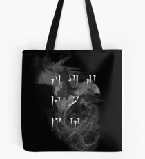 Fus Ro Dah - Smoke and Haze Tote Bag