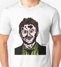 Chris Hardwick Colour/Color Nerdist Fanart Portrait JTownsend T-Shirt