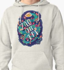 Zag on 'Em!  Pullover Hoodie
