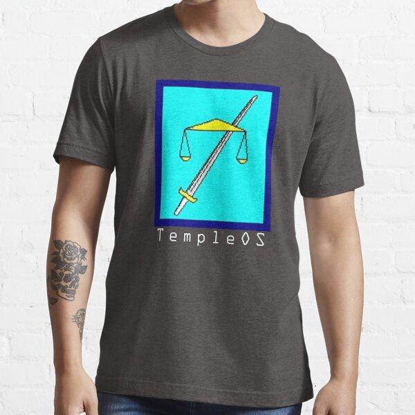TempleOS Text Logo Essential T-Shirt