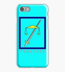 TempleOS Text Logo iPhone Case/Skin