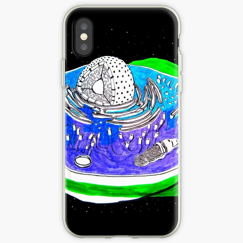 Tierzelle iPhone-Hüllen & Cover