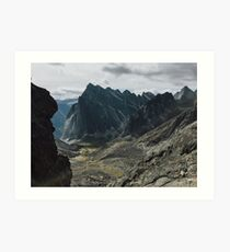 Cirque of the Unclimbables Art Print