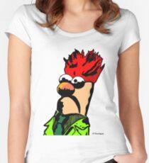 Color Beaker Muppets Fanart by JTownsend Women's Fitted Scoop T-Shirt