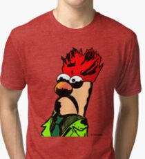 Color Beaker Muppets Fanart by JTownsend Tri-blend T-Shirt