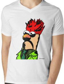 Color Beaker Muppets Fanart by JTownsend Mens V-Neck T-Shirt