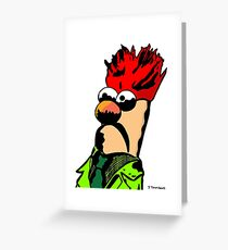Color Beaker Muppets Fanart by JTownsend Greeting Card
