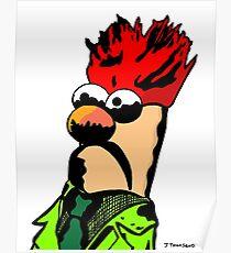 Color Beaker Muppets Fanart by JTownsend Poster