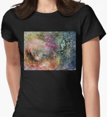 moonscape Women's Fitted T-Shirt