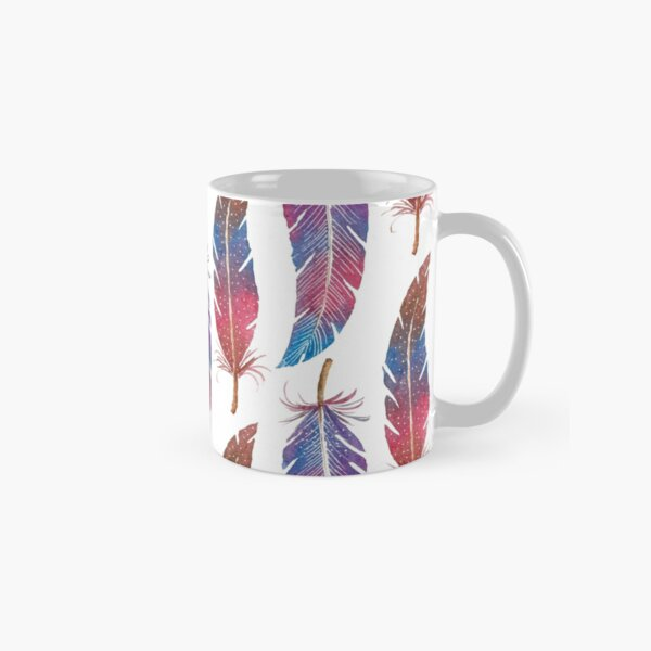 Feathers Two Ways Classic Mug