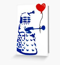 Dalek Love Tee Greeting Card