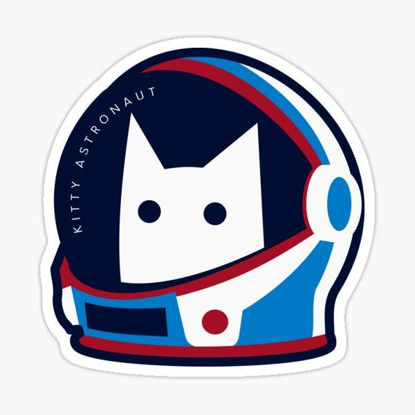 Kitty Astronaut Sticker
