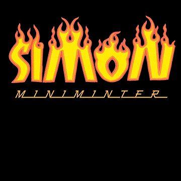 Simon Minter - Thrasher inspired by xpunkspirationx
