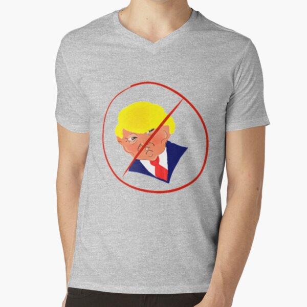 Not My President! V-Neck T-Shirt