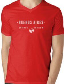 Buenos Aires Mens V-Neck T-Shirt