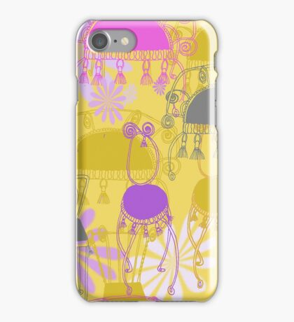 fancy chairs with spirals and tassels iPhone Case/Skin