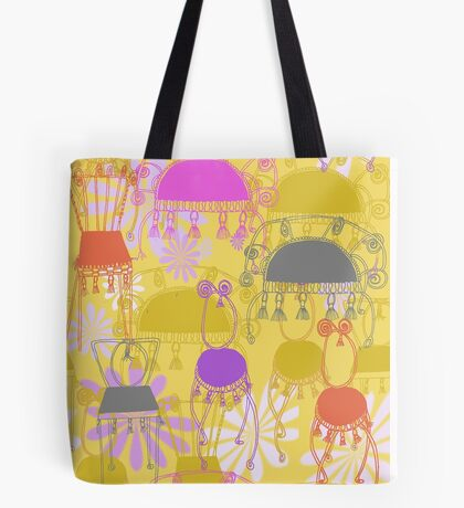 fancy chairs with spirals and tassels Tote Bag