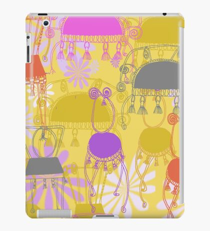 fancy chairs with spirals and tassels iPad Case/Skin