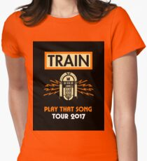 Play That Song Tour Womens Fitted T-Shirt
