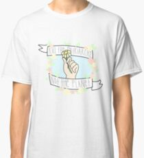 kill the patriarchy, not the planet Classic T-Shirt