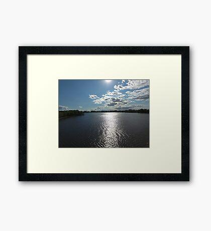 Riviere des prairies Framed Print