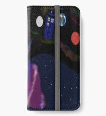 even cats dream of space iPhone Wallet/Case/Skin