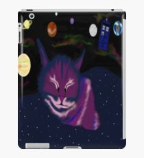 even cats dream of space iPad Case/Skin