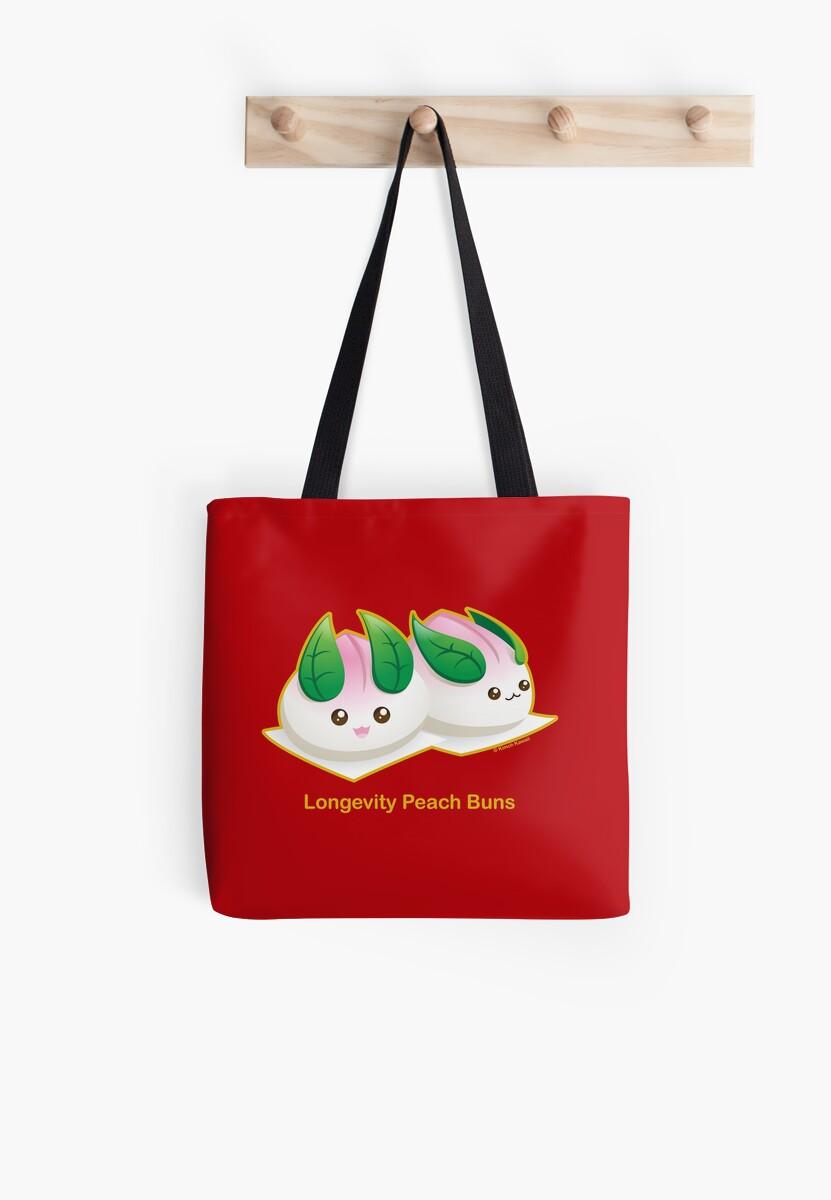 Punny Buns: Peach Bunny Buns by kimchikawaii