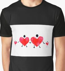 Heart People Series #4 Graphic T-Shirt