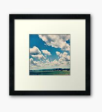 Oklahoma Plains Framed Print