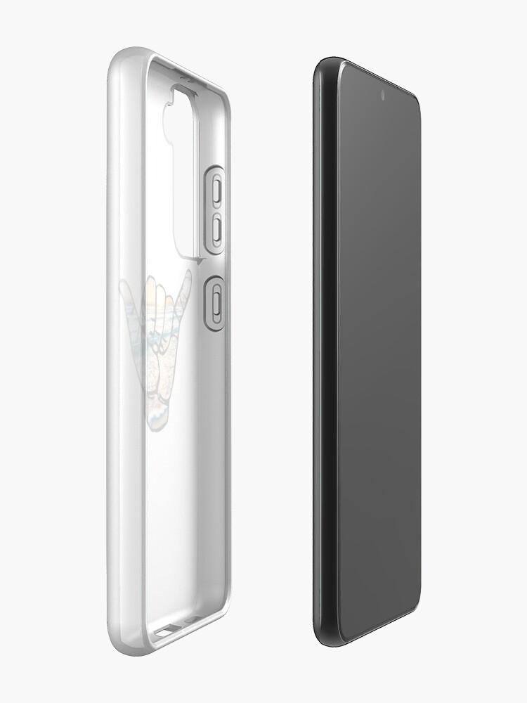 Alternate view of Shaka-Cancun Case & Skin for Samsung Galaxy