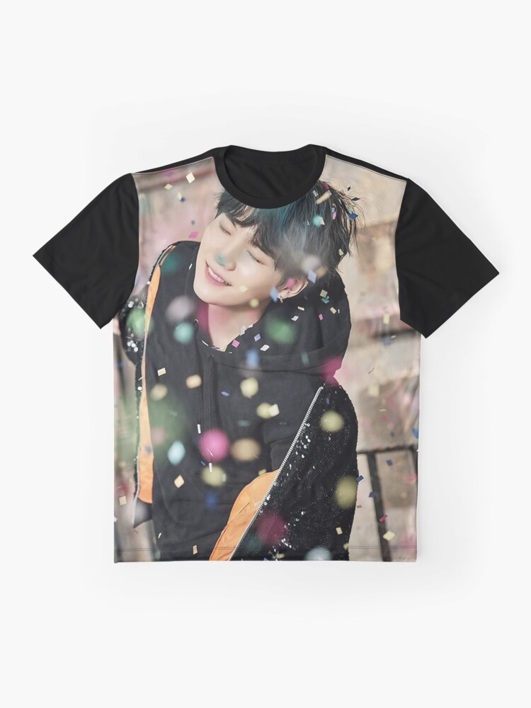 Alternate view of Suga / You Never Walk Alone Graphic T-Shirt