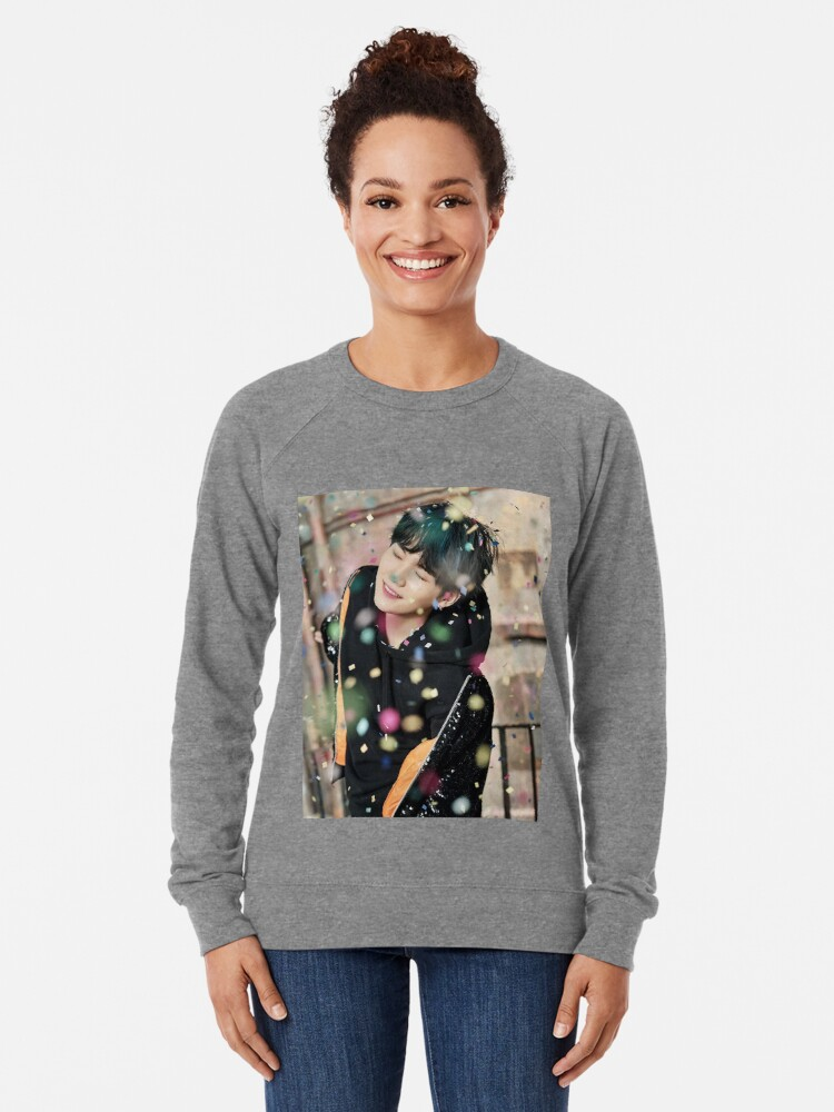Alternate view of Suga / You Never Walk Alone Lightweight Sweatshirt