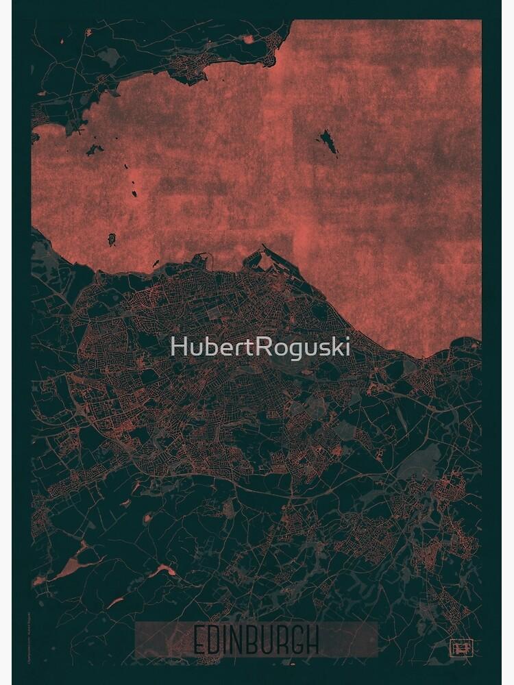 Enidburgh Map Red by HubertRoguski