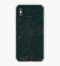 Charlotte Map Red iPhone Case